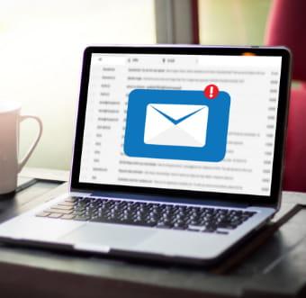 メールの管理画面画像